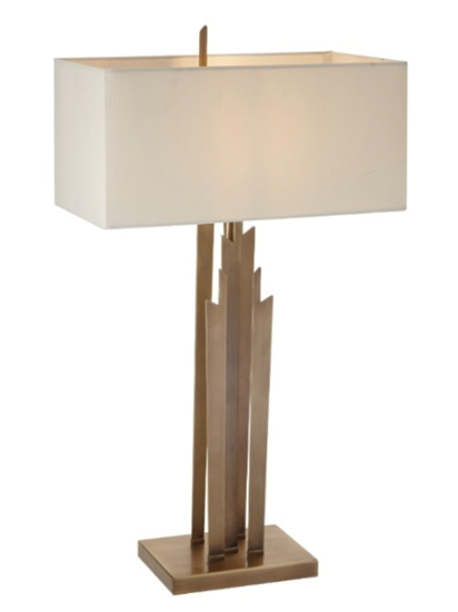 Picture of RV ASTLEY CARRICK ANTIQUE BRASS FINISH TABLE LAMP
