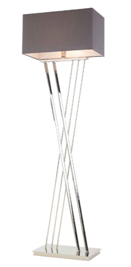 Picture of RV ASTLEY ROMA NICKEL FLOOR LAMP