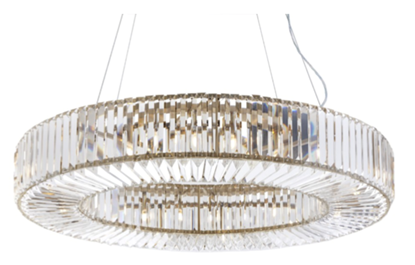 Picture of RV ASTLEY FAIRLAWNS CHANDELIER OVAL BR
